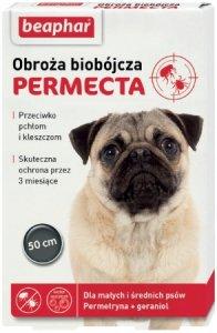 Beaphar 13392 Permecta obroża małe średnie psy