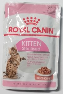 Royal 249930 Kitten Sterilised w sosie 85g