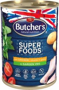Butchers 5758 Superfood Kurczak z warzywami 400g