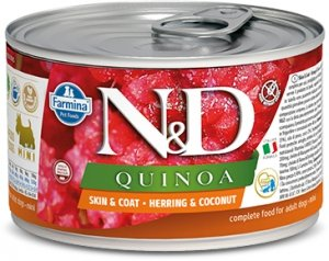 ND Dog 2383 Quinoa Mini 140g Skin&Coat Herring