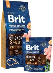 Brit Premium By Nature M Adult 1kg