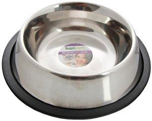 LupiPets Miska 0,25L metalowa dla kota na gumie