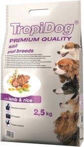 Tropidog 57065 Premium Adult S Lamb&Rice 2,5kg