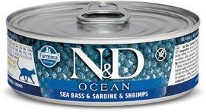 ND Cat Ocean 2017 Adult 80g Sea bass,sardine Shrim