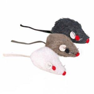Trixie 4139 Myszka 5cm z dzwonkiem 1szt