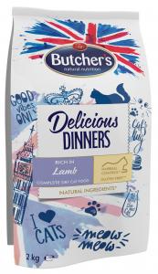 Butchers 6014 Delicious Dinners Jagnię d/kota 2kg