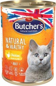 Butchers 5680 Cat Natural&Healthy 400g kurczak gal