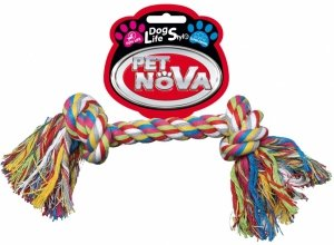 Pet Nova 2809 Zabawka sznur 2KNOT 20cm