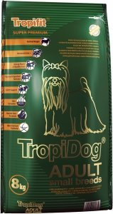 Tropidog 56037 Super Adult S Salmon Lamb Rice 8kg