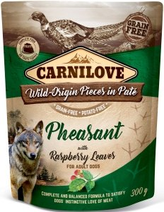 Carnilove Dog 7662 pouch Phaesant & raspberry 300g