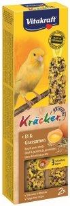 Vitakraft 2658 Kracker 2szt Kanarek Jajo Nasiona