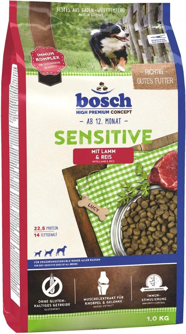 Bosch 23010 Sensitive Lamb&Rice 1kg