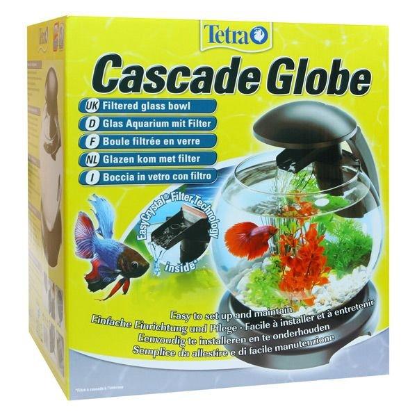 Tetra 211827 Cascade Globe Szklana kula z Filtrem