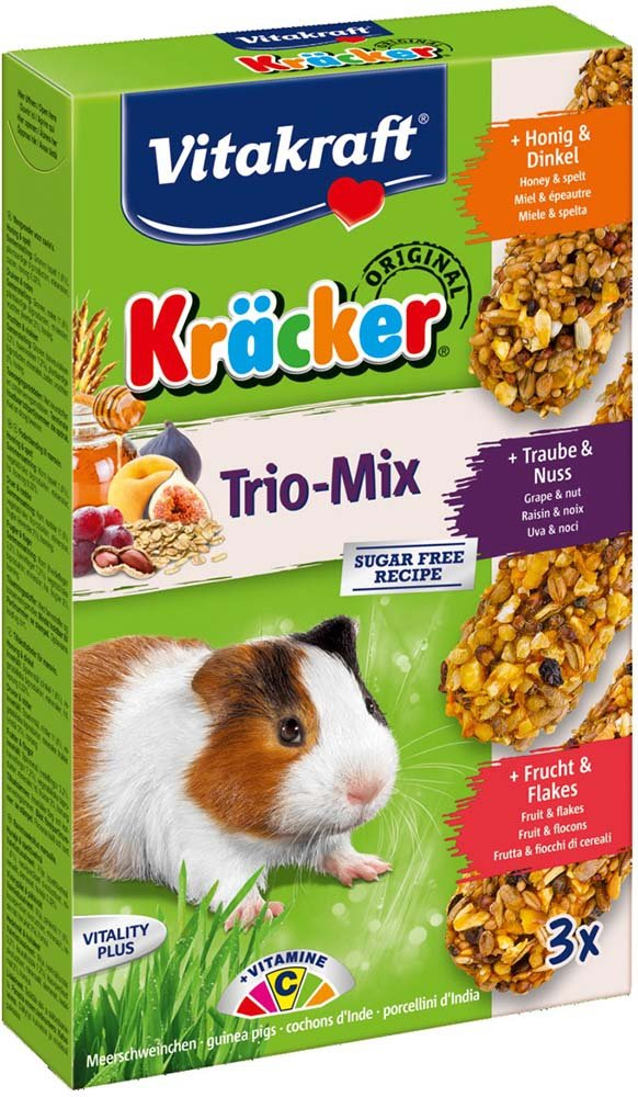 Vitakraft 3392 Kracker 3szt świńka miód,owoc,orze