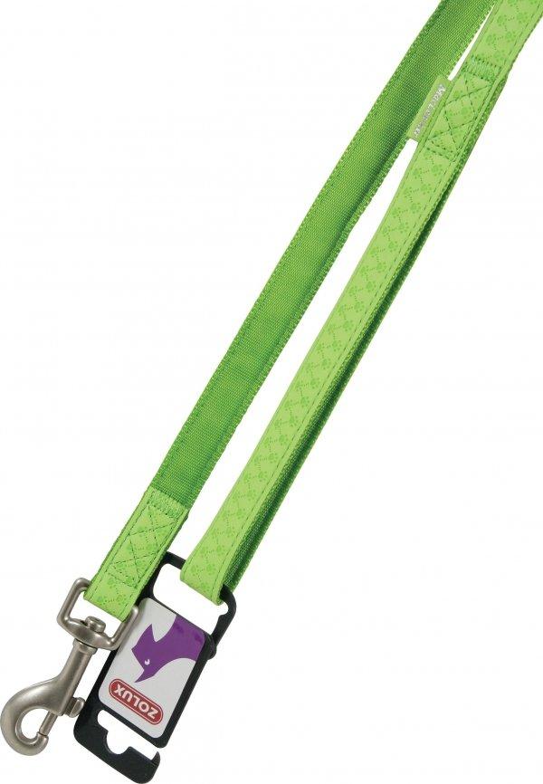Zolux 435168ANI Smycz Mac Leather 20mm/1,2m seledy