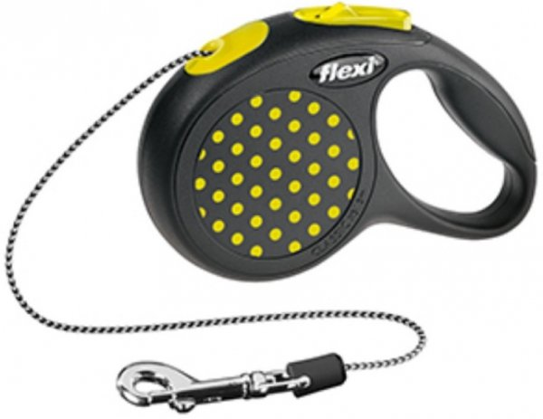 Flexi 2541 Design XS Cord 3m 8kg żółta*