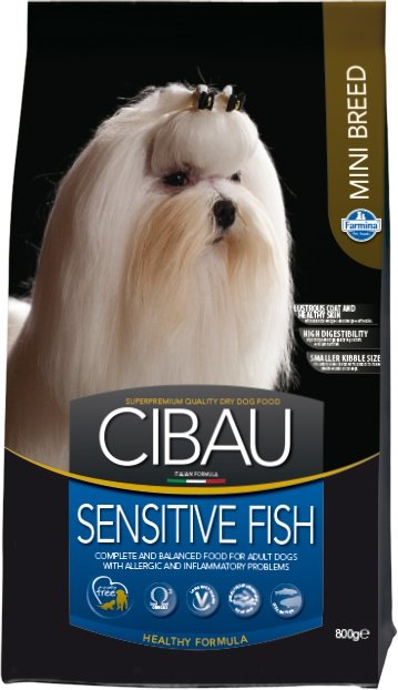 Cibau Dog 0887 Sensitive Fish Mini 800g