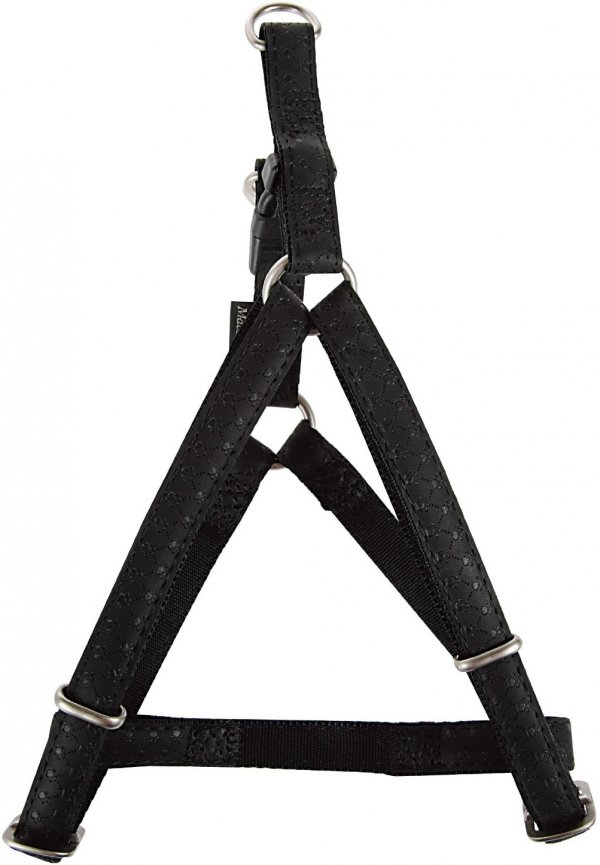Zolux 522050NO Szelki Mac Leather 10mm czarne