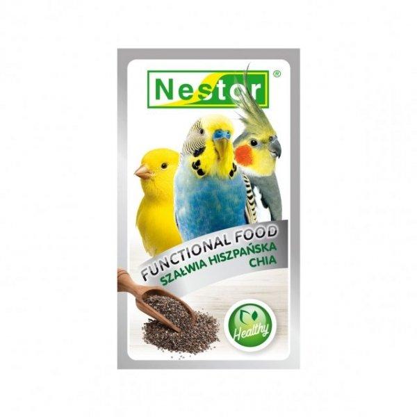 Nestor 2510 Żywność Funkcjonalana CHIA dla ptaków