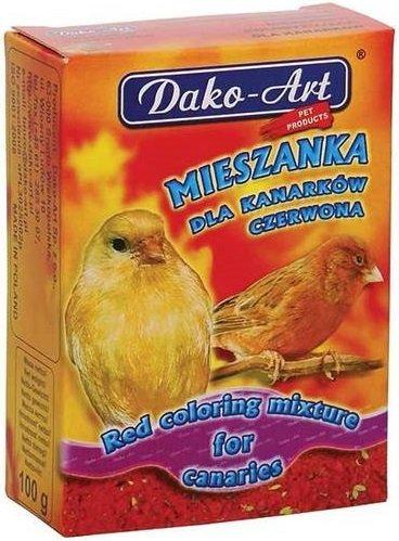 Dako-Art 207 Mieszanka dla kanarka czerwona 100g