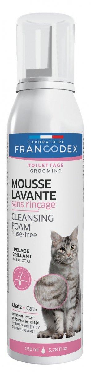 Francodex 172455 Pianka myjaca dla kotów b/s 150ml