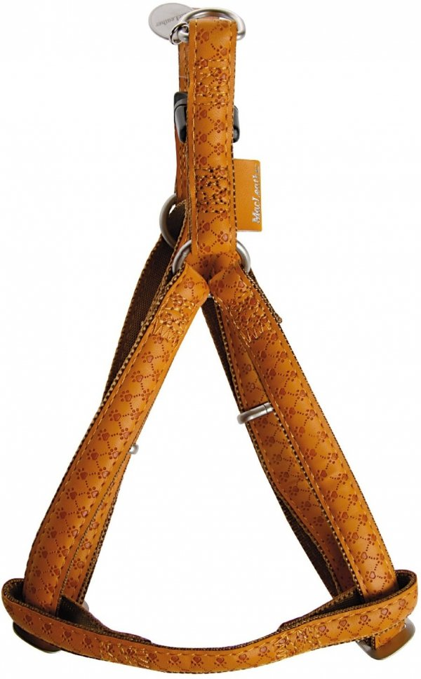Zolux 522055JA Szelki Mac Leather 15mm żółte