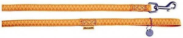 Zolux 522025JA Smycz Mac Leather 25mm/1,2m żólty