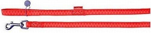 Zolux 522025RO Smycz Mac Leather 25mm/1,2m czerwon