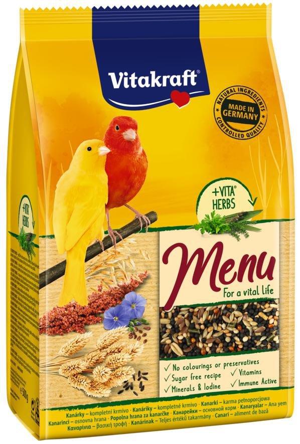Vitakraft 10620 Menu Vita Herbs 500g dla kanarka