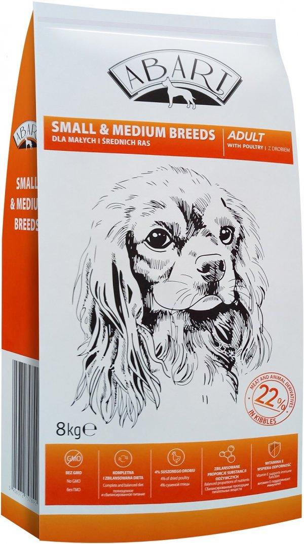 Abart 7892 sucha dla psa 8kg z drobiem 22%meat