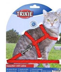 Trixie 4183 Szelki dla kota odblaskowe 18-35/120cm