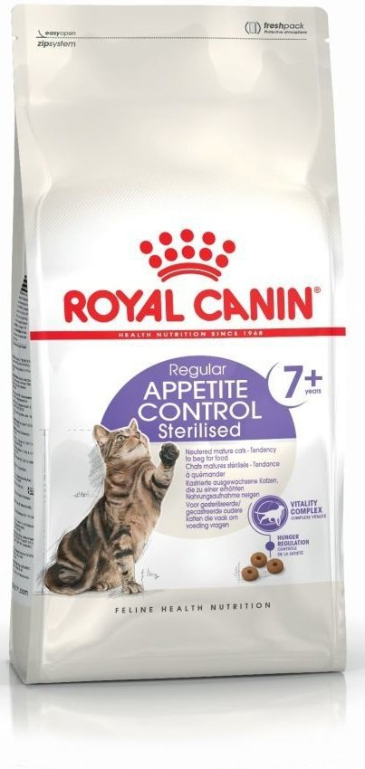 Royal 228110 Sterilised Appetite Control 7+ 1,5kg