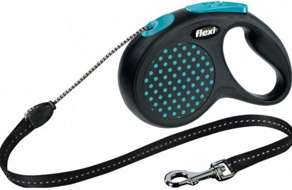 Flexi 2562 Design M Cord 5m 20kg niebieska*