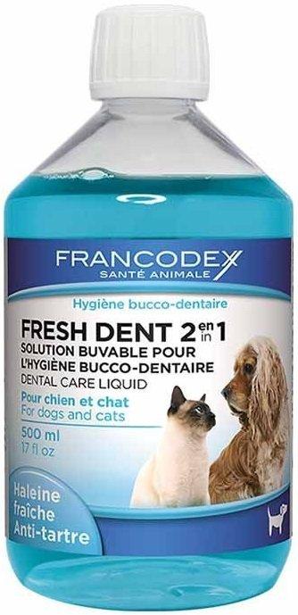 Francodex 179121 Fresh Dent płyn d/psa, kota 500ml