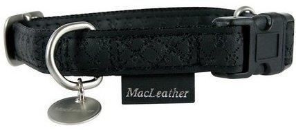 Zolux 522035NO Obroża Mac Leather 15mm czarny