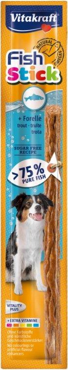 Vitakraft 0528  Fish Stick pstrąg dla psa 15g 1szt