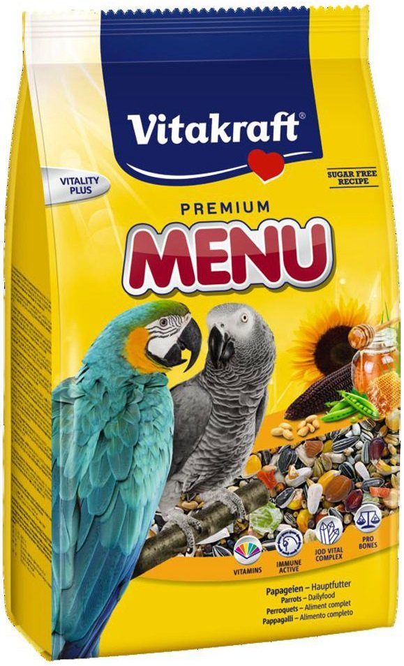 Vitakraft 6018 Menu 1kg- Karma dla Ary Miodowa