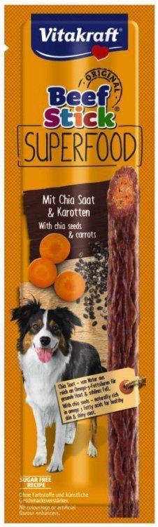 Vitakraft 9642 Beef Stick 1szt Superfood marchew