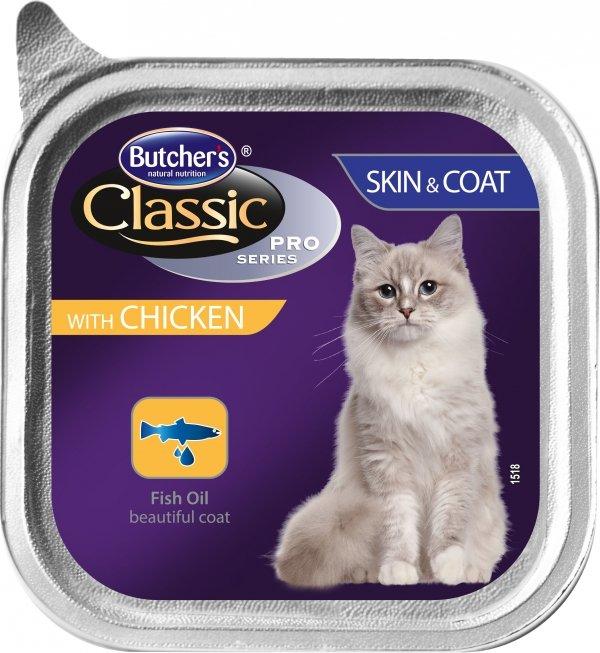 Butchers 3716 Pasztet kurczak 100g sierść skóra