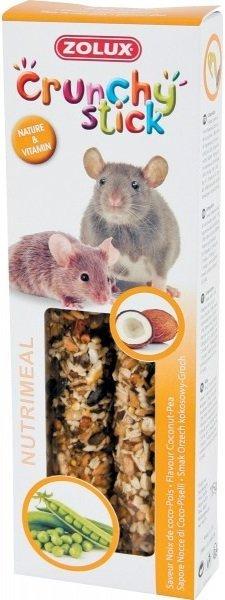 Zolux 209242 Crunchy Stick szczur mysz orzech 115g