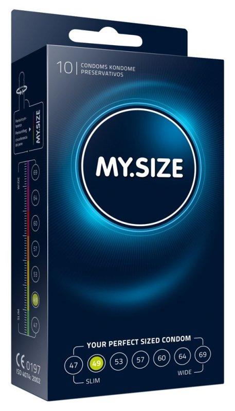 Prezerwatywy 49 mm 10 szt My.Size