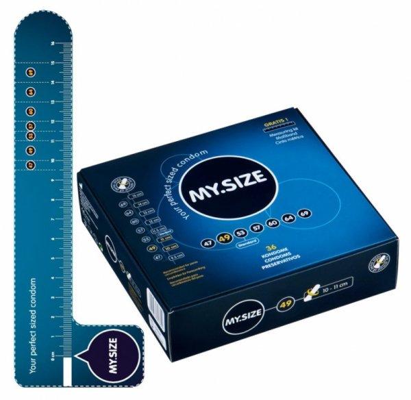 Prezerwatywy 49 mm 36 szt. My.Size