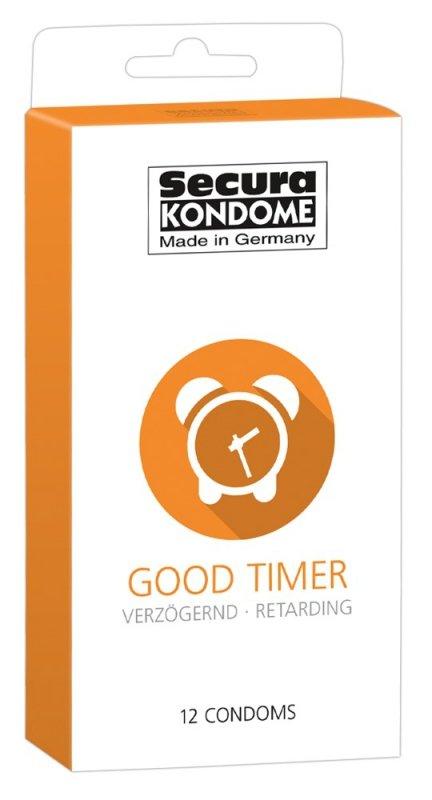 Prezerwatywy Good Timer przedłużające stosunek 12 szt. Secura