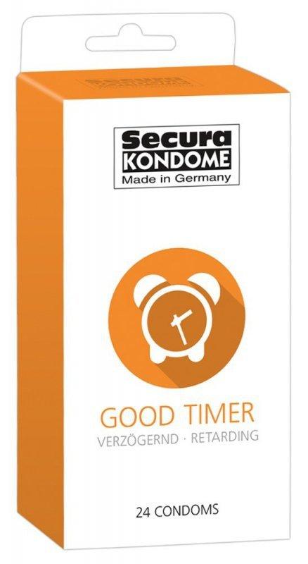 Prezerwatywy Good Timer przedłużające stosunek 24 szt. Secura