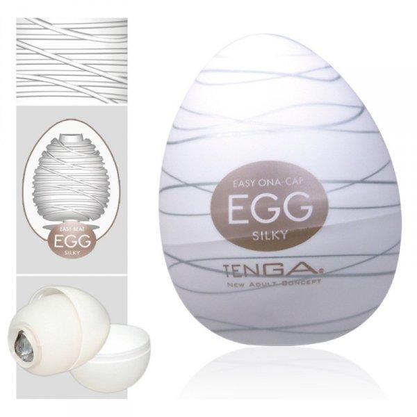 Masturbator Tenga Egg Silky- 1 szt.