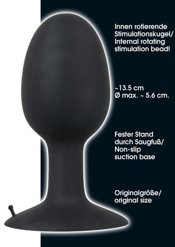 Korek analny silikonowy Backdoor Friend XL 13,5 cm