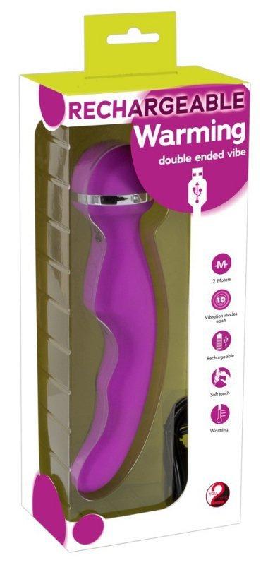 Wibrator i masażer w jednym z funkcją rozgrzewania
