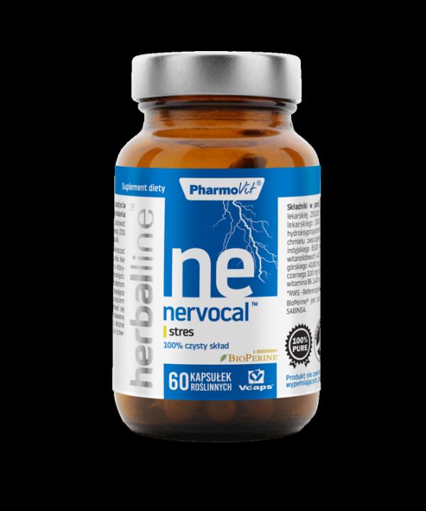 Herballine Nervocal™ stres 60 kapsułek