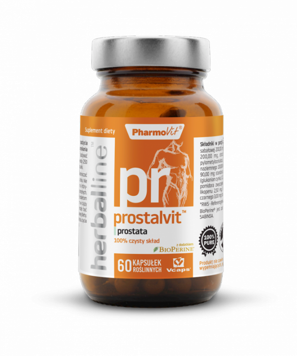 Herballine Prostalvit™ prostata 60 kapsułek