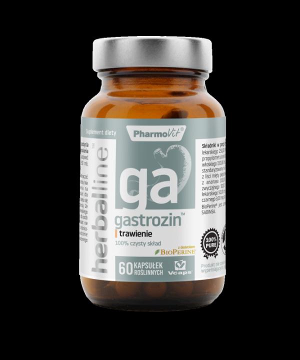 Herballine Gastrozin™ trawienie 60 kapsułek